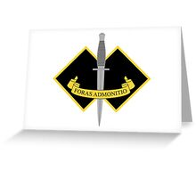 2 Commando Greeting Card
