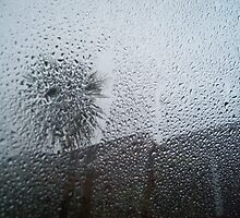 Rain on the window by Basjan