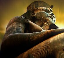 as light dawns on Ramesses II by navybrat