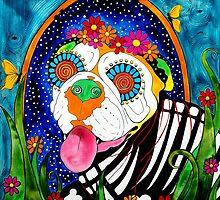 Bulldog III by RobiniArt