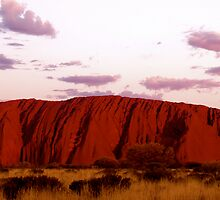 Uluru Panorama II by Grace Leung