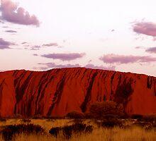 Uluru Panorama II by Grace Leung