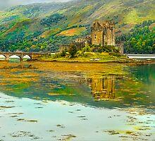 Eileen Donan Castle by eddiej