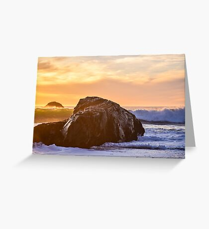Zen Rock Greeting Card
