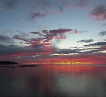 Southern Sunset by John Billing