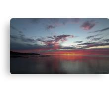 Southern Sunset Canvas Print