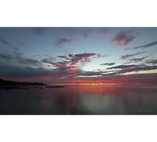 Southern Sunset Photographic Print