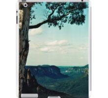 Blue mountains Australia iPad Case/Skin