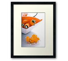 A Taste of Chilli. Framed Print
