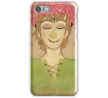 Flower crown hiccup iPhone Case/Skin