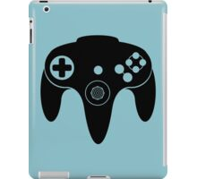 Nintendo N64 Black iPad Case/Skin