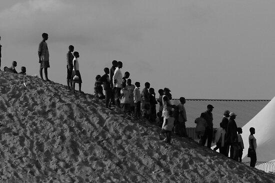 Gathering Crowd by Abi Skeates