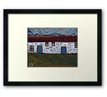 The barn conversion Framed Print