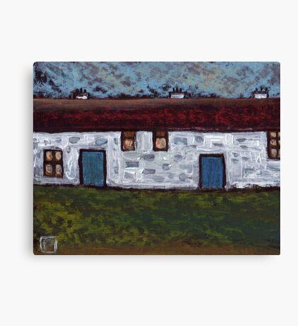 The barn conversion Canvas Print