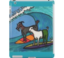 Surfing Goats iPad Case/Skin