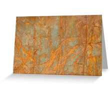 Rusty metal1 Greeting Card
