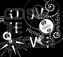 God Save The QVeen - Vivienne Icons (black version) by kristofscg