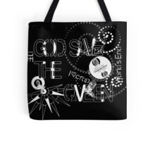 God Save The QVeen - Vivienne Icons (black version) Tote Bag