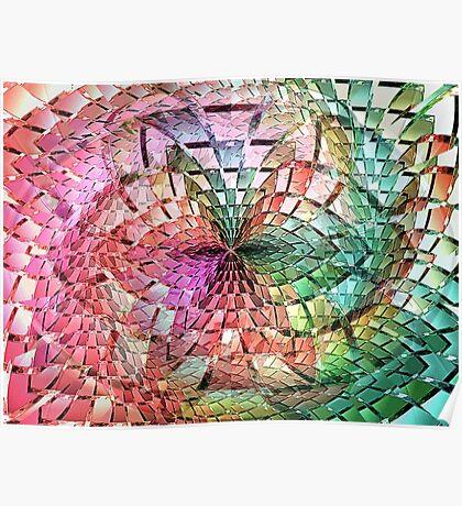 Portals Crystal Punch Bowl  (UF0275) Poster