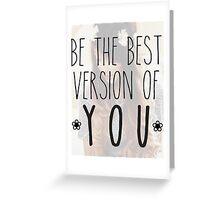 zoella - best version Greeting Card