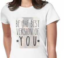 zoella - best version Womens Fitted T-Shirt