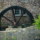The Old Mill Wheel by Mary Campbell