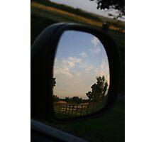 Rear view landscape Photographic Print