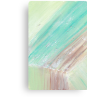 Mineralogy 1: Green Calcite Canvas Print