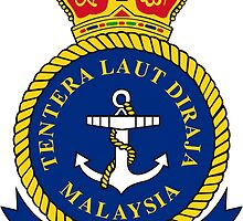 Crest of the Royal Malaysian Navy  by abbeyz71