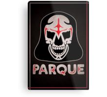 Parque Mask Design Metal Print