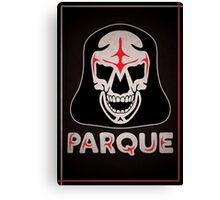 Parque Mask Design Canvas Print