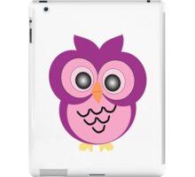 Purple Owl Design iPad Case/Skin