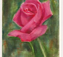 Red Valentine Rose 2015 by Dai Wynn