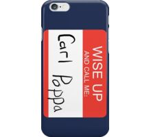 Carl Poppa. iPhone Case/Skin