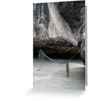 Forgotten hammock Greeting Card