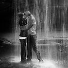 Waterfall kiss by RDJones