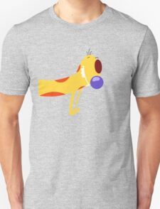 Catdog - Cartoon Dog Cat Funny Yellow Mustard Pet Silly Unisex T-Shirt