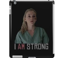 I AM Strong. iPad Case/Skin