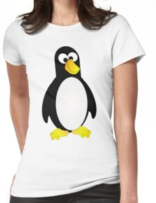 Boss Eyed Penguin Womens Fitted T-Shirt