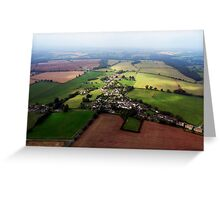 "UK: ""The Chosen Town"", Gloucestershire Greeting Card"