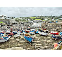 Coverack Harbour Photographic Print