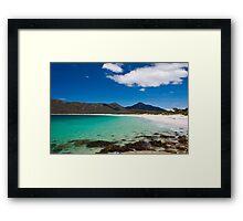 Wine Glass Bay, Freycinet National Park, Tasmania, Australia Framed Print