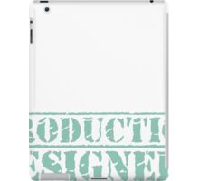 8th Day Production Designers T-shirt iPad Case/Skin