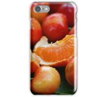 Delightful fruit iPhone Case/Skin
