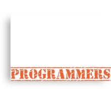 8th Day Programmers T-shirt Canvas Print