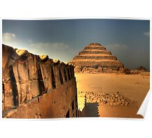 Serpents and the Pyramid of Djoser Poster