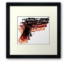 Warhol Guns Framed Print