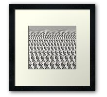 Cool Headed-Available As Art Prints-Mugs,Cases,Duvets,T Shirts,Stickers,etc Framed Print