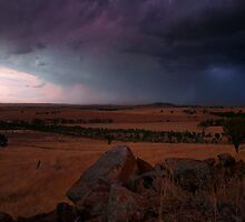 Theres a Storm Coming by Grant Scollay