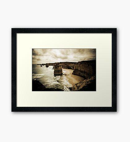Twelve Apostles, Great Ocean Road, Victoria Framed Print